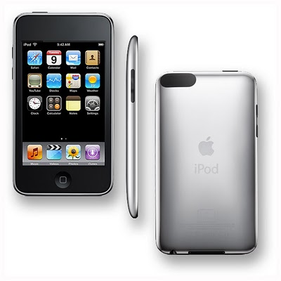 APPLE IPOD 32 gb SAMPING DEPAN BELAKANG