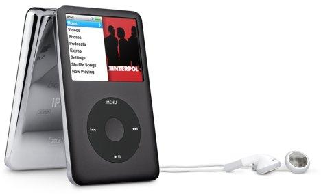 iPod classic 120 GB Black