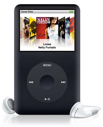 iPod classic 160 GB Black
