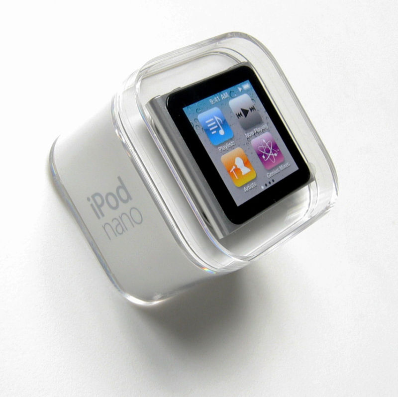 Apple iPod nano 8 GB Graphite (6th Generation) NEWEST ...